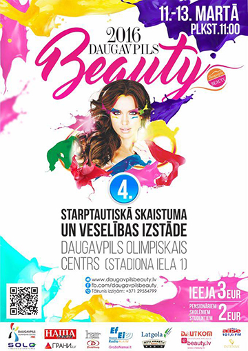 DAUGAVPILS BEAUTY 2016